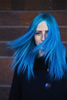 Cheveux Bleus-Blue Hair, lecoloriste