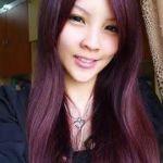 cheveux violet, le coloriste