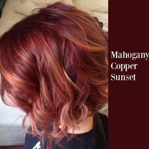 couleur cheveux auburn acajou coiffures la mode de cette saison. Black Bedroom Furniture Sets. Home Design Ideas