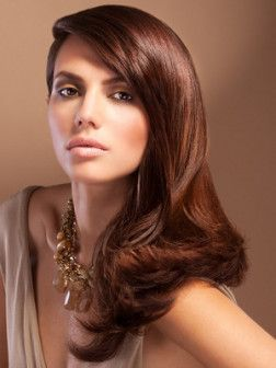 Photo cheveux couleur chocolat