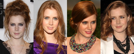 Amy Adams finally dares copper red, le coloriste