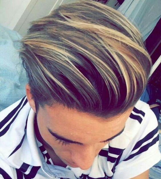 Coloration Cheveux Homme Blond Coloration Des Cheveux