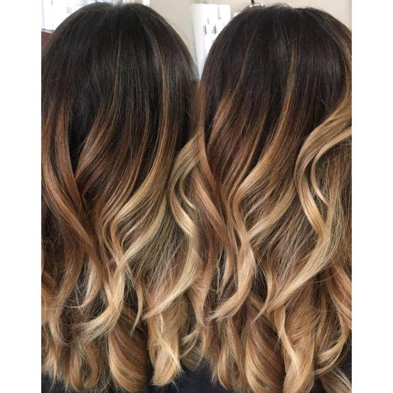Mode coloration cheveux hiver 2018