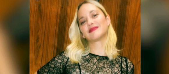 Marion Cotillard change sa coloration cheveux et ose le blond