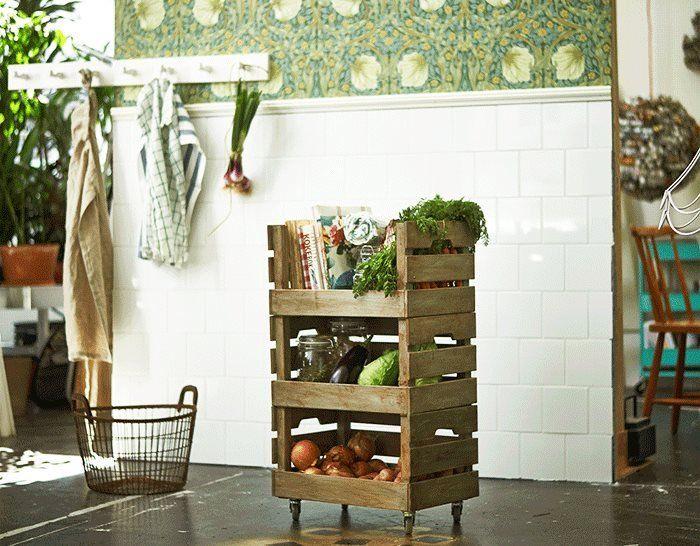 14 idées originales avec des caisses en bois