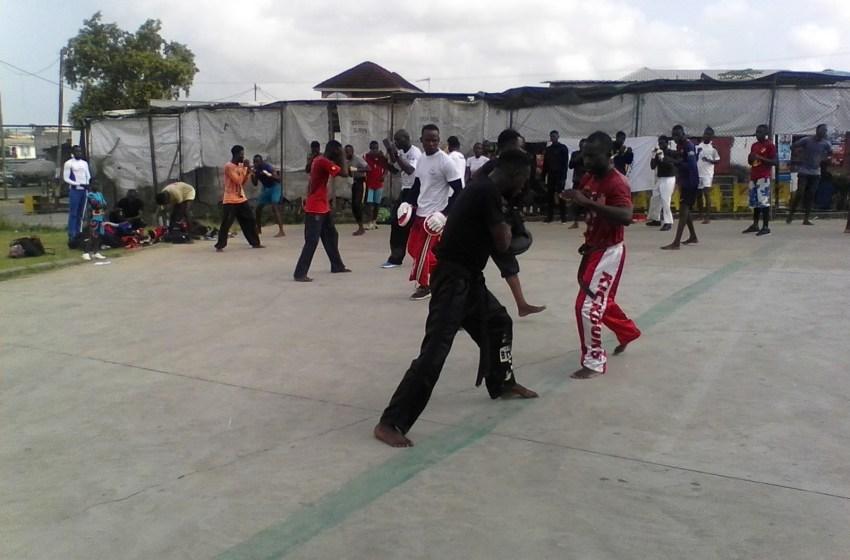 Kick-boxing: reprise des entrainements collectifs au complexe sportif de Pointe-Noire