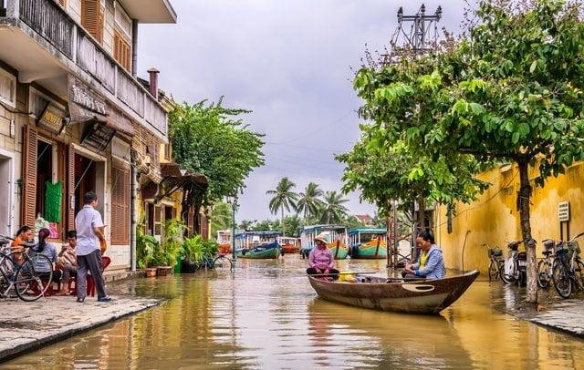 In Vietnam alluvioni con pochi precedenti