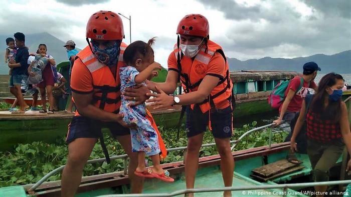Tifone Goni:  l'evento estremo più potente dell'anno