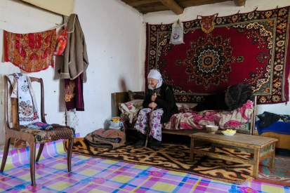 Kazakh grandma (102 years old)