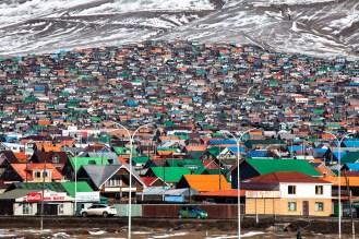 The coloured city of Erdenet