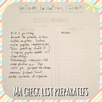 Check List, To Do List des choses a faire avant son voyage, printable à télécharger gratuitement sur le blog
