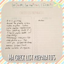 Check List, To Do List des choses a faire avant son voyage, printable à télécharger gratuitement sur le blog