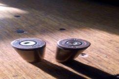 Douilles de balle retrouvées sur les lieux de l'attaque
