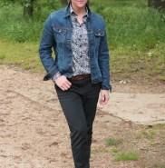 impeccable avec ma veste en jean