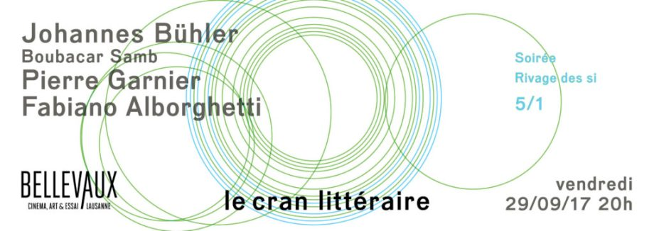 Soirée Rivage des si – Vendredi 29/09/17, 20h