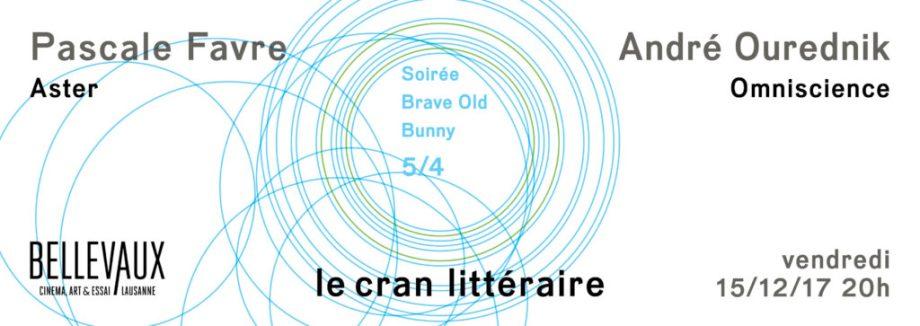 Soirée Brave Old Bunny — Vendredi 15/12/17, 20h