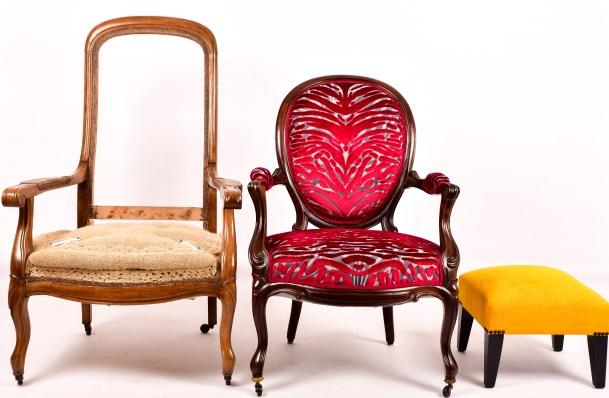restauration de fauteuils le crapaud