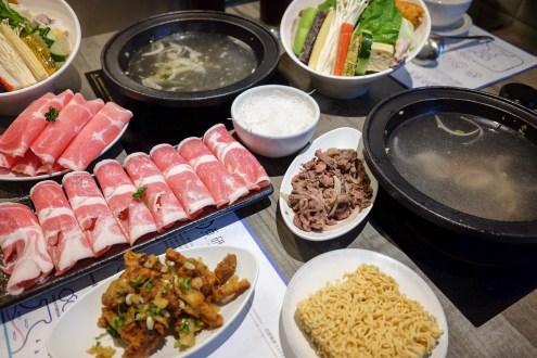 新竹市 石研室 實驗室器材特殊鍋物 麻油雞鍋 宵夜場也能一起吃鍋 (2017菜單)