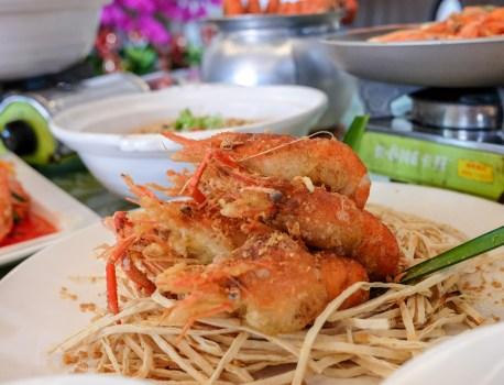 屏東縣九如鄉|黃金蝦無毒泰國蝦餐廳  佔地廣大親子同樂 過年聚會的好所在