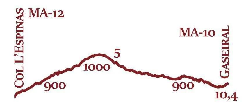 MA-11 Profil topographique