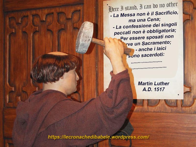 """Il """"trionfo"""" di Lutero 500 anni dopo?"""