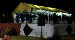 Evening service at 2013 Leeto la Thapelo