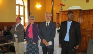 CEVAA representatives at Morija church service in October