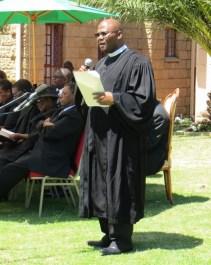 LECSA Moderator Rev. Tseliso Masemene