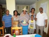 Rev. & Mrs. Tefo, Rev. Gourdet, Mrs. & Rev. Masemene and their son Thapelo