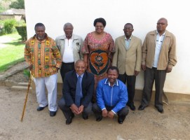 MTS Staff with Rev. Gourdet