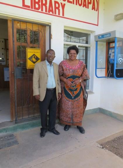 MTS Director Rev. Kometsi and Rev. Gourdet