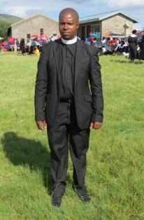 Rev. E. T. Mona of Matelile Parish
