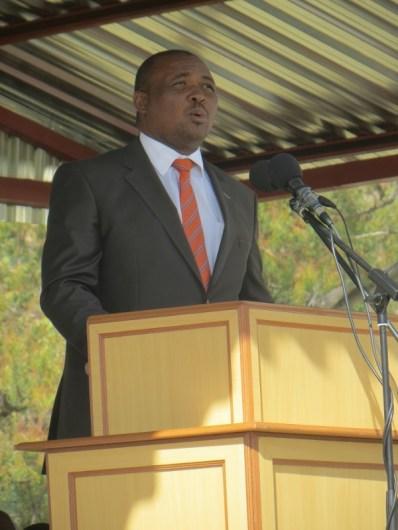 The Deputy Prime Minister of Lesotho Mr. Mothetjoa Metsing