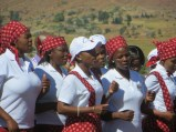 Tebellong Hospital choir members