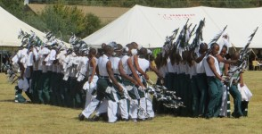 Leribe High School dance group