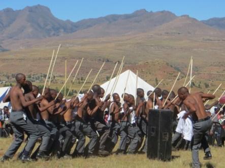 Mohobelo dance group