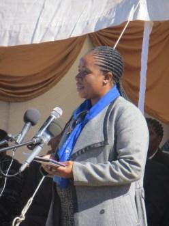 Ms. Lebohang Mothae of CHAL