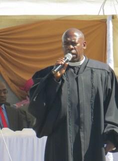 Rev. K. D. Mathibeli of Tebellong LECSA