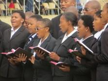 Morija Theological Seminary choir members