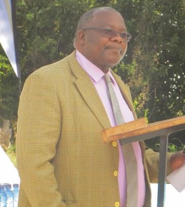 Scott Hospital Administrator Mr. Matela Maxwell Thamae
