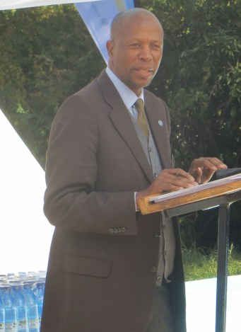 The Principal Secretary for the Ministry of Health Mr. Lefu Manyokole