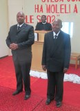 3rd Year Bible Students Mr. Khemane and Mr. Letho