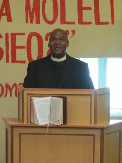 Rev. T. S. Masemene