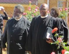 Revs. John Rapelang Mokhahlane and Tšeliso Simeon Masemene