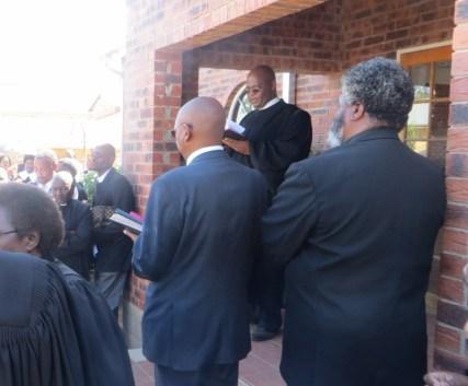 Opening of the LECSA John Calvin Chapel at the National University of Lesotho