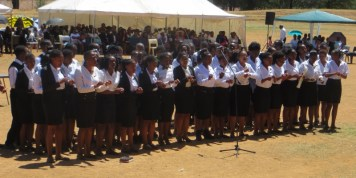 LECSA Youth Choir from the National University of Lesotho