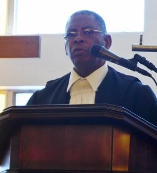 His Lordship High Court Judge Joseph Teboho Moiloa
