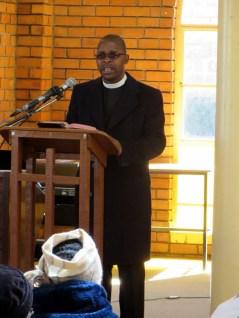 Rev. M. M. Phate of Mafeteng LECSA