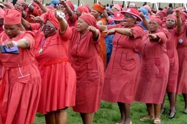 Women of Maphutseng Presbytery attending Leeto la Thapelo