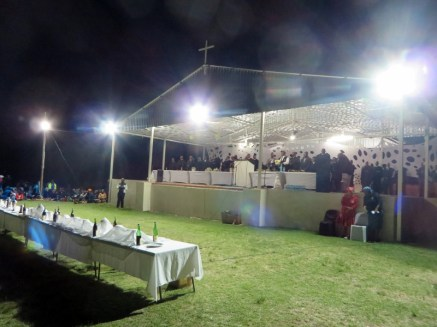Saturday evening at Leeto la Thapelo